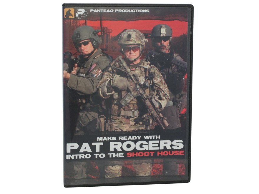 "Panteao ""Make Ready with Pat Rogers:  Intro to the Shoot House"" DVD"
