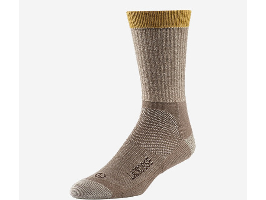 LaCrosse Men's Hunt Lightweight Crew Socks Merino Wool and Synthetic Blend