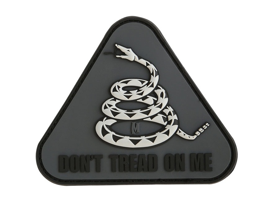 "Maxpedition Don't Tread On Me PVC Patch 3"" x 2.6"""