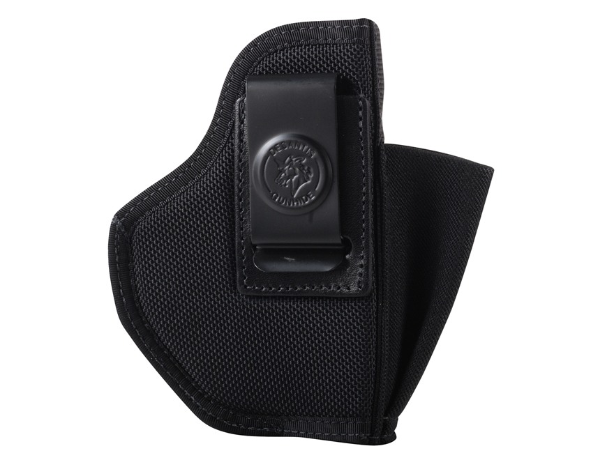DeSantis Pro Stealth Inside the Waistband Holster Ambidextrous Beretta Nano, S&W M&P Shield with Crimson Trace LG489 Nylon Black