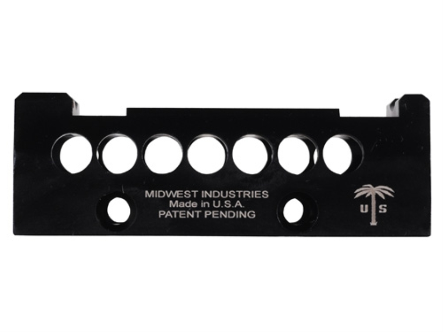 Midwest Industries US Palm AK-47, AK-74 Handguard Top Cover with Aimpoint Micro, Vortex Sparc or Primary Arms Micro Dot Optic Mount Aluminum