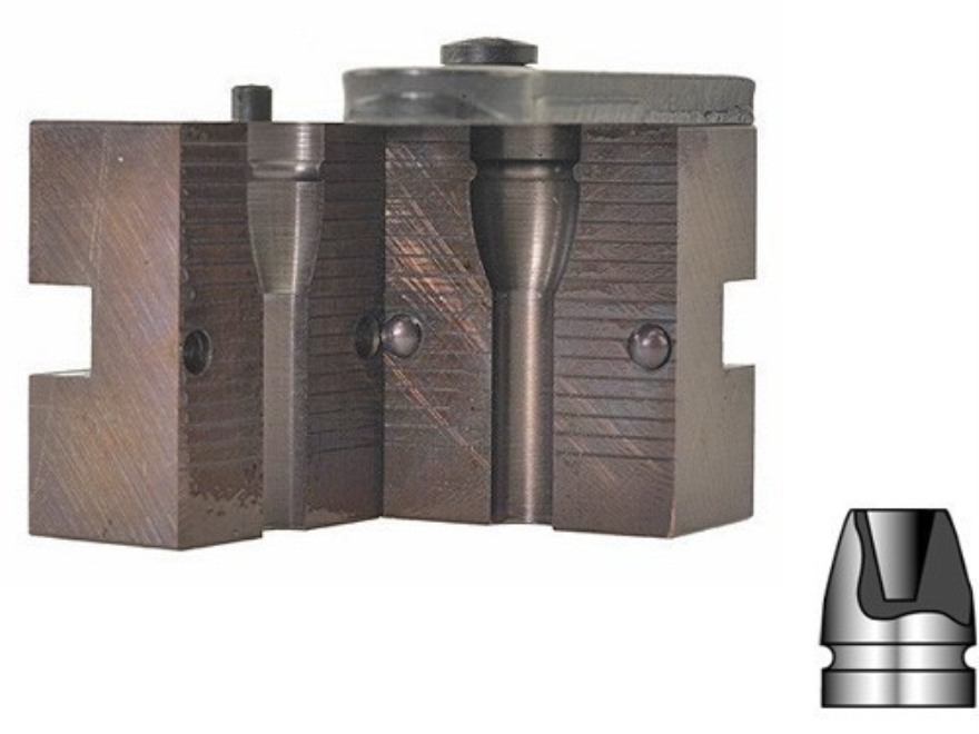 Lyman 1-Cavity Bullet Mold #452374 45 Caliber (452 Diameter) 180 Grain Devastator Hollow Point
