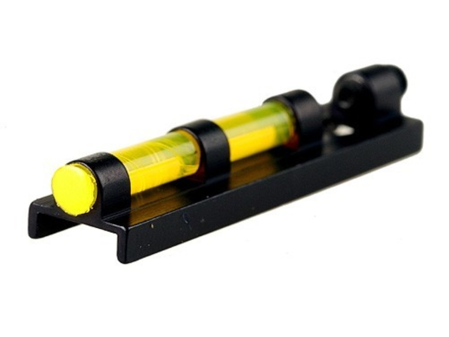 "Williams Fire Sight Ventilated Rib Width 1/4"" Aluminum Black Fiber Optic Yellow"