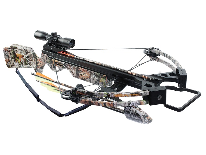 Inferno Firestorm Crossbow Package Oak Grove Fall Camo