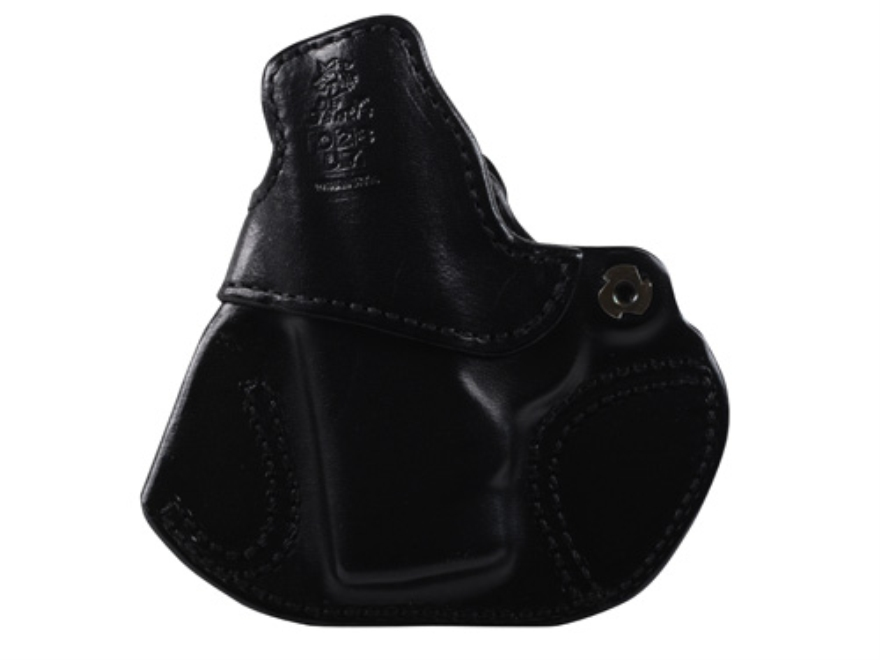 DeSantis Cozy Partner Inside The Waistband Holster Right Hand S&W Bodyguard 380 Leather Black