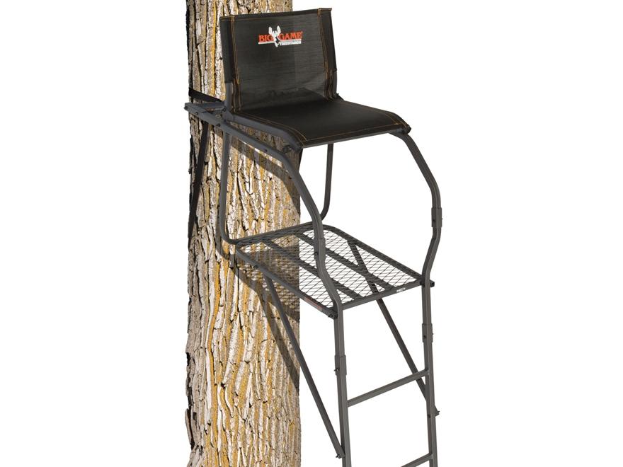 Big Game The Nextgen Stealth Single Ladder Treestand Steel