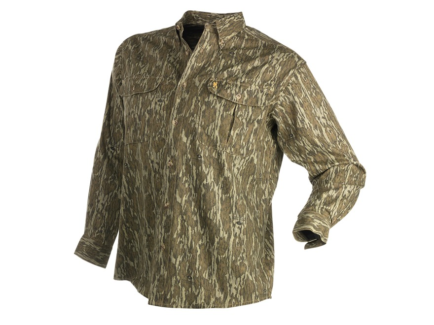 Browning Men's Wasatch Shirt Long Sleeve
