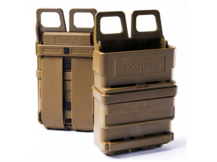 ITW FastMag Gen III Single Magazine Pouch AR-15 MOLLE Compatible Polymer