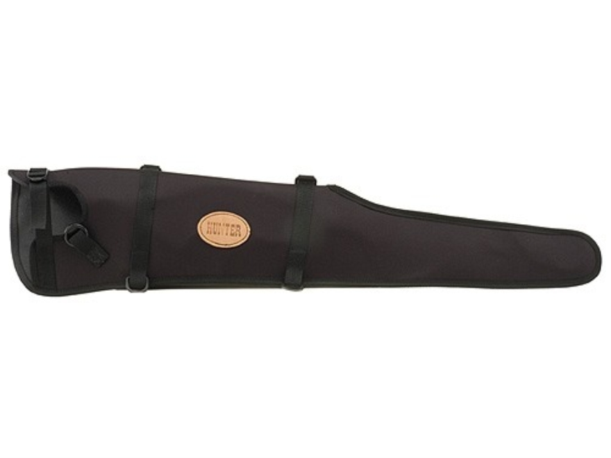 "Hunter 1290 Ruffstuff Scoped Rifle Scabbard Open End for 26"" Barrel Rifle Nylon Black"