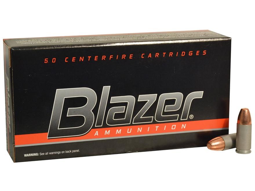 CCI Blazer Ammunition 9mm Luger 147 Grain Total Metal Jacket Box of 50