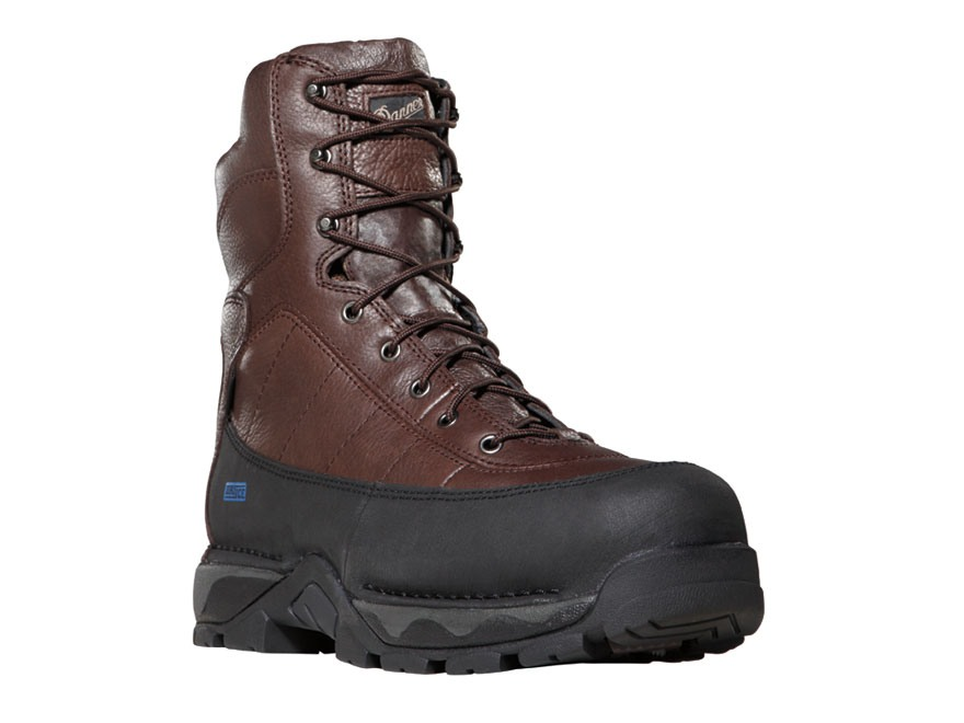 "Danner Vandal 8"" Waterproof 600 Gram Insulated Boots Leather Brown Men's"