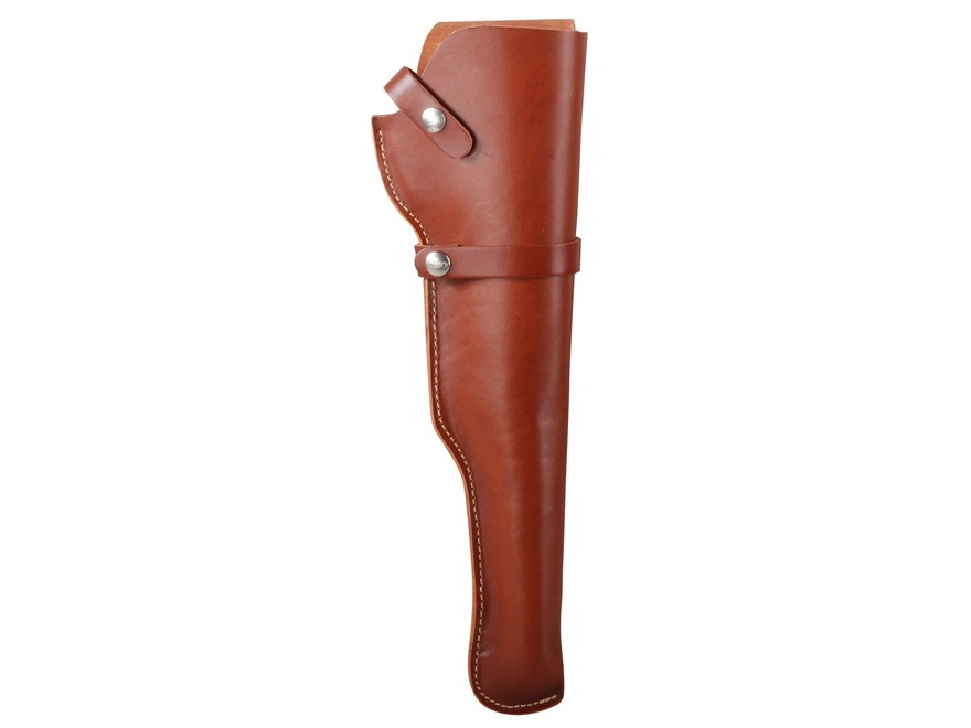 "Hunter 1100 Snap-Off Belt Holster Right Hand 14"" Thompson Center Contender Barrel Unscoped Leather Tan"