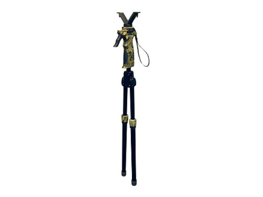 Primos Trigger Stick Short Bipod Shooting Sticks Polymer Mossy Oak Break-Up Camo