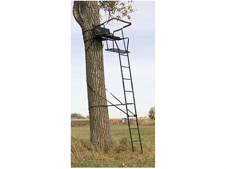 Big Game Treestands The Big Buddy Ladder Treestand Steel Black