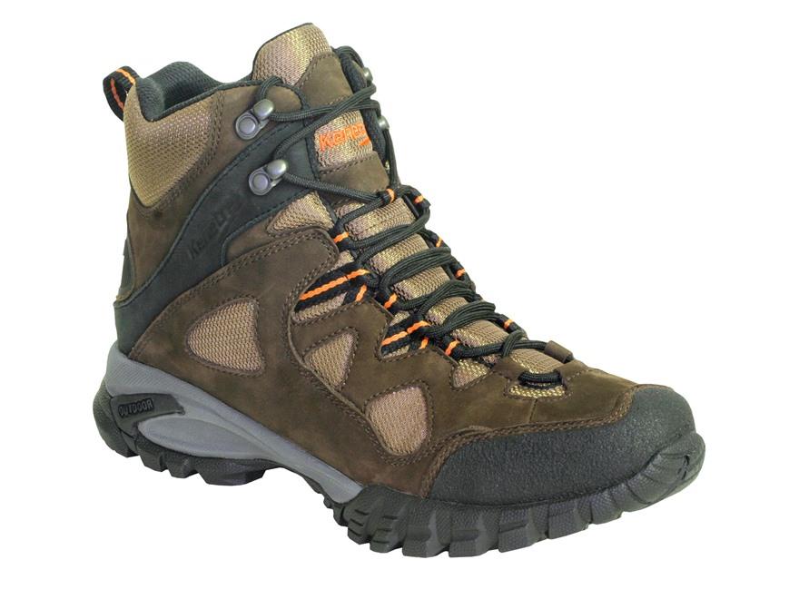 "Kenetrek Bridger Ridge 6"" Waterproof Uninsulated Hiking Boots Leather and Nylon Brown Men's"