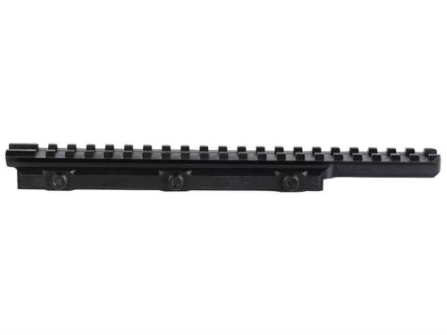 PRI 1-Piece Extended Picatinny-Style Riser Mount 20 MOA Elevated AR-10, LR-308, SR-25 Flat-Top Aluminum Matte