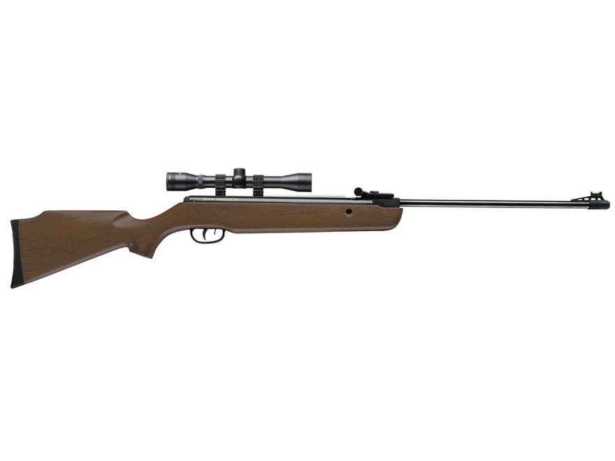 Crosman Vantage Nitro Piston Break Barrel Air Rifle 177 Caliber Pellet Hardwood Stock Blued Barrel with 4x32mm Scope