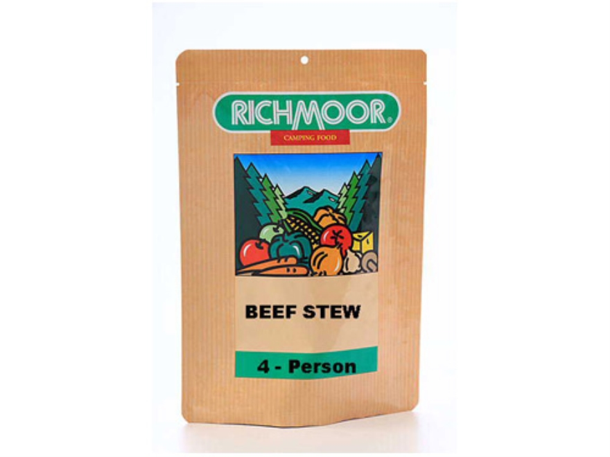 Richmoor Beef Stew Freeze Dried Meal 7.25 oz