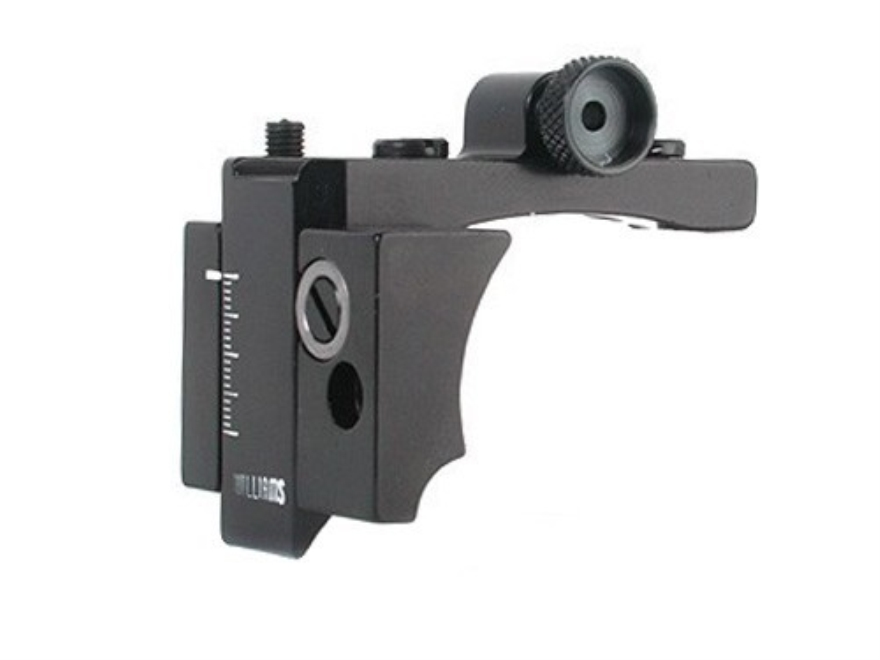 Williams 5D-70 Receiver Peep Sight Winchester 70, Remington 700, Mossberg 800 Aluminum Black