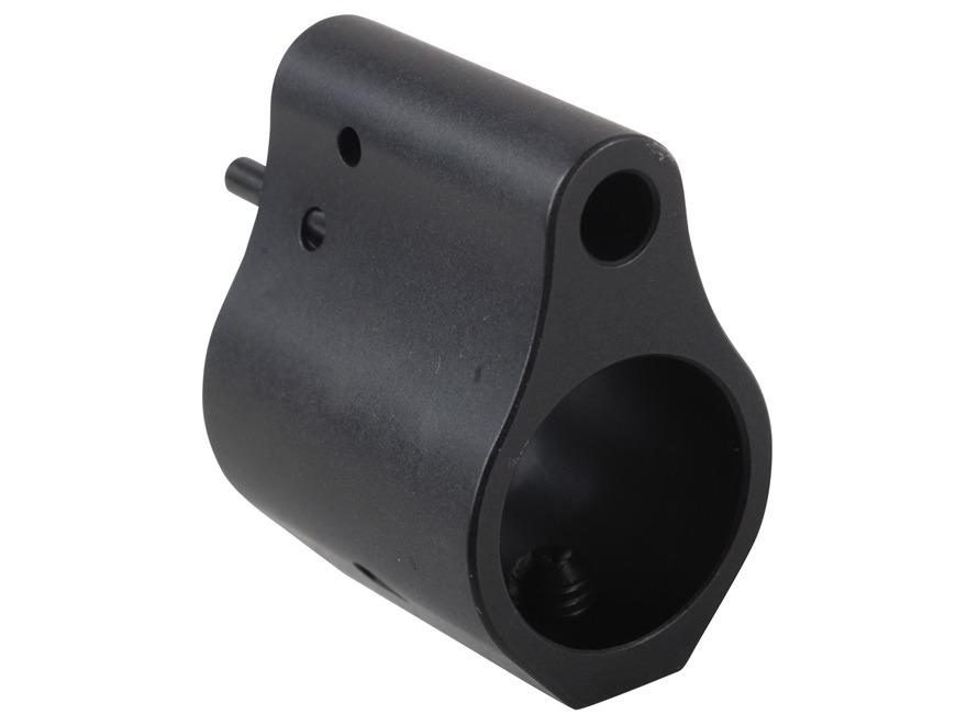"Syrac Ordnance Detent-Locking Gas Block AR-15, LR-308 Light Weight Barrel 0.625"" Inside Diameter Low Profile Steel Matte"