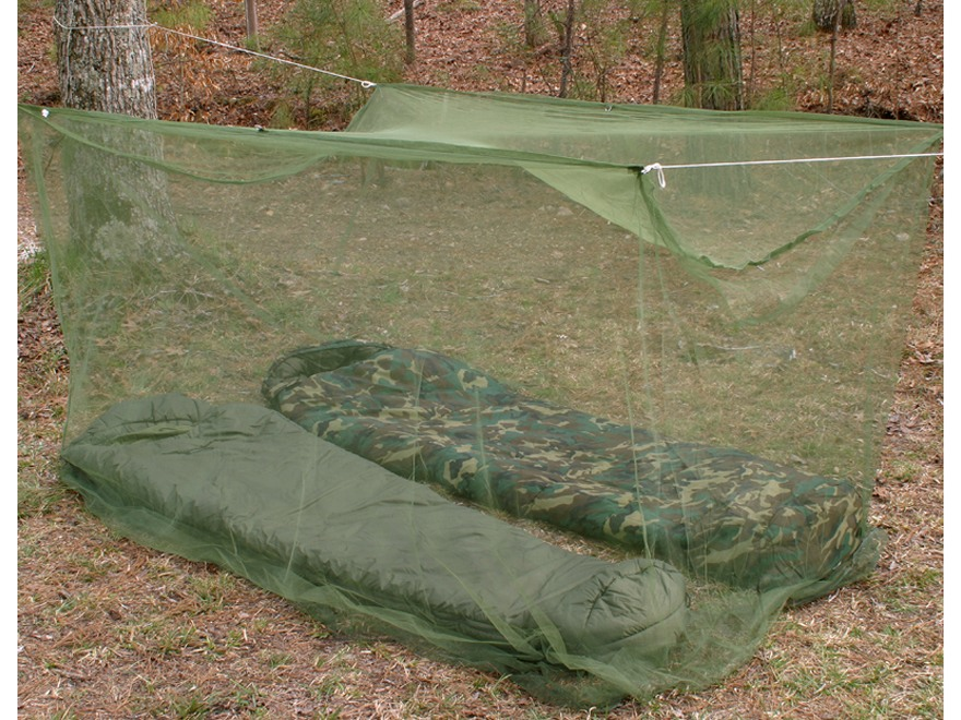 Snugpak Jungle Mosquito Net Double Olive Drab