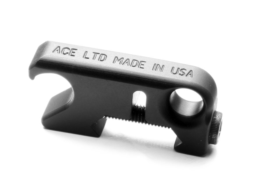 ACE Rail Mount Sling Adapter / Tactical Bottle Opener Fixed Loop AR-15 Aluminum Matte