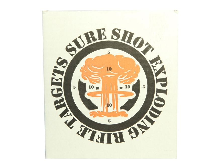 Sure Shot LRT Exploding Rifle Target 1 lb Box
