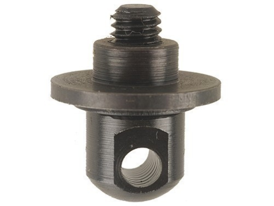Harris Bipod Adapter Stud Flange Nut for Ruger M77 Mark II Synthetic Stock Black