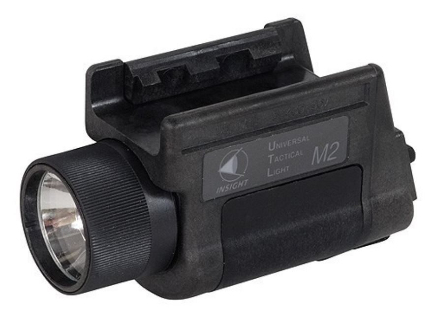 HK Universal Tactical Light (UTL) Weaponlight Halogen with 2 CR123A Batteries Polymer Black