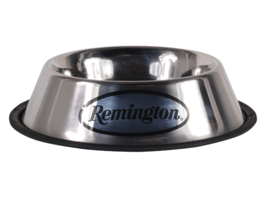 Remington Dog Food and Water Bowl Stainless Steel 32 oz