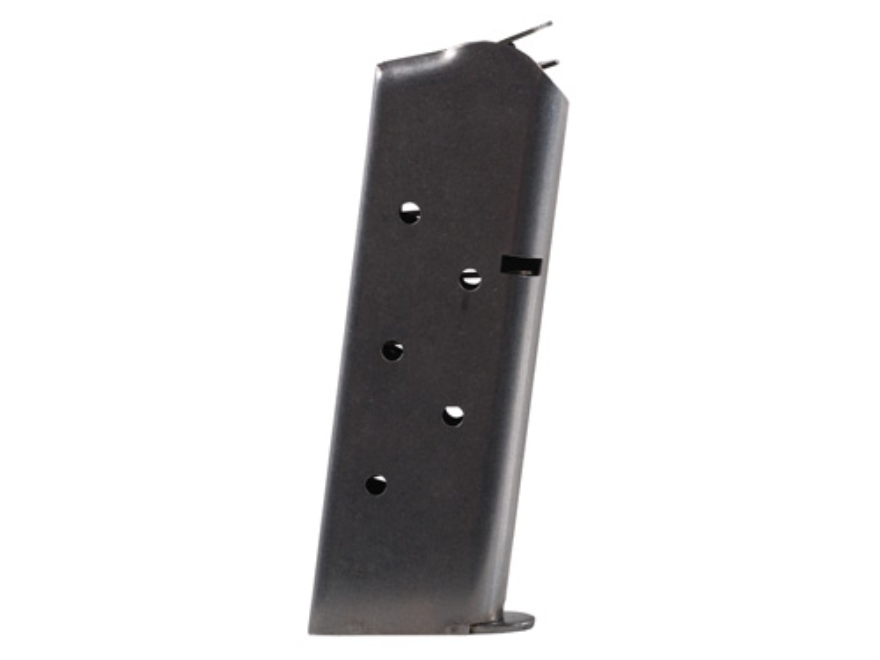 Metalform Magazine 1911 Government, Commander 45 ACP 8-Round Stainless Steel Matte Flat Follower Welded Base