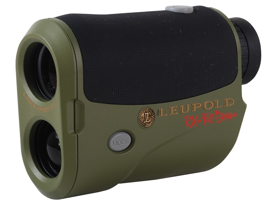 Leupold RX-FullDraw Laser Rangefinder 5x Black/Dark Earth