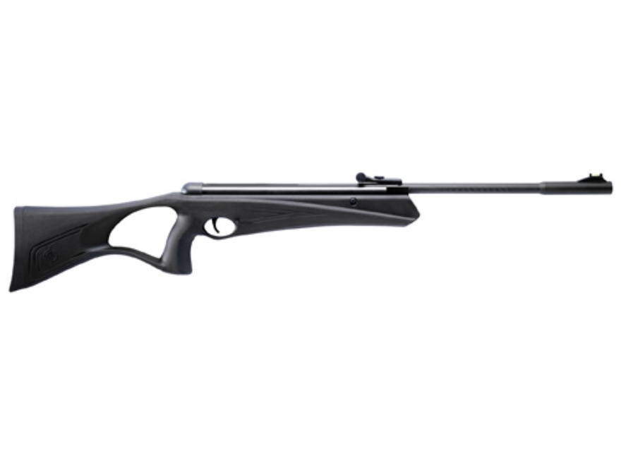 Crosman Raven Air Rifle .177 Caliber Polymer Stock Black Blue Barrel
