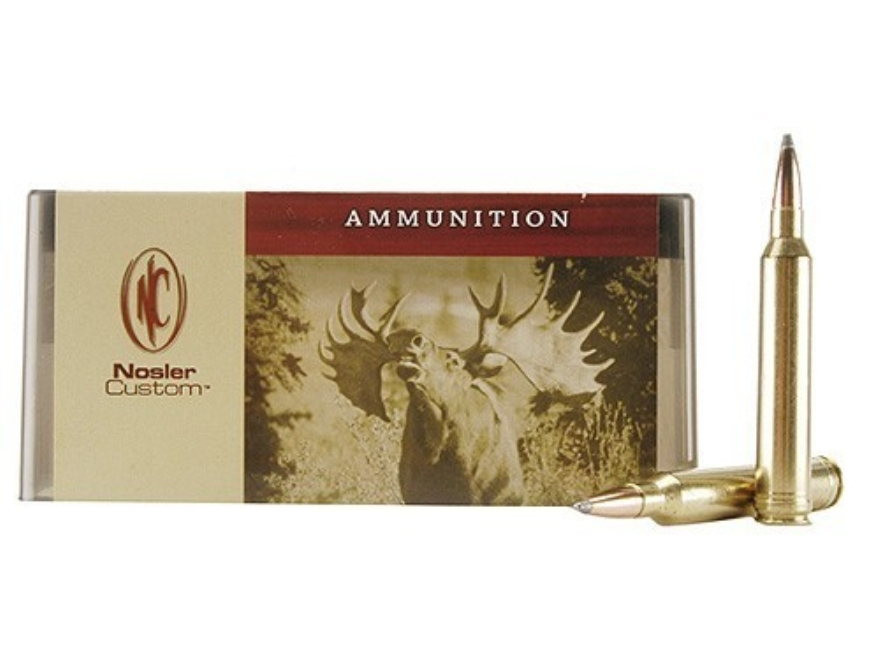Nosler Custom Ammunition 7mm STW 150 Grain Partition Spitzer Box of 20