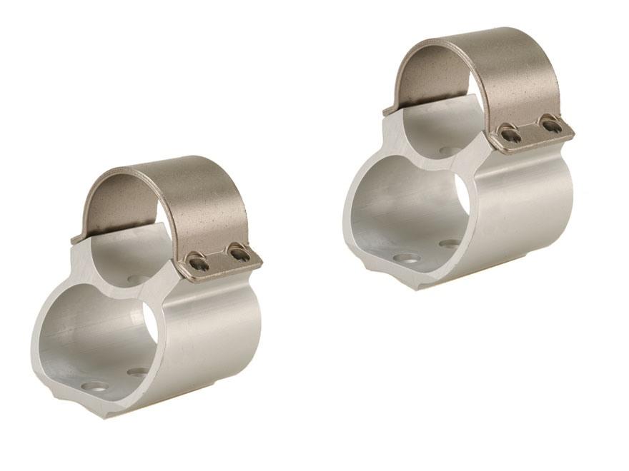 """Weaver 1"""" Steel Lock See-Thru Ring Mounts Ruger 10/22"""