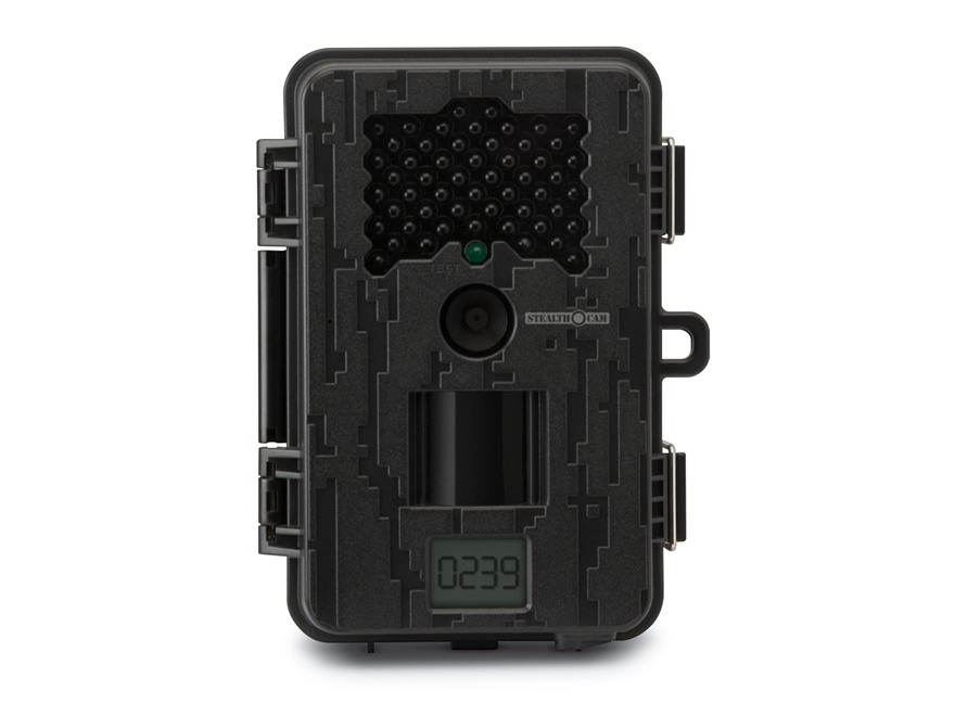 Stealth Cam Black Wolf Black Flash Infrared Game Camera 8 Megapixel Black