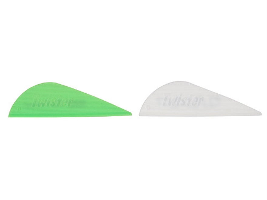 "NAP Twister Vanes 2"" (12 White/24 Green) Pack of 36"