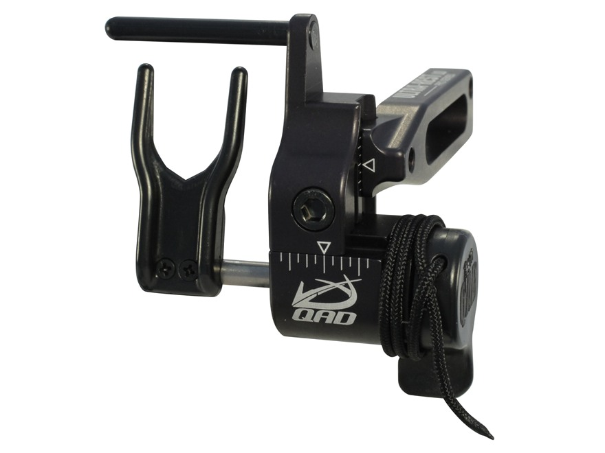 QAD Pro Series LD Drop-Away Arrow Rest Right Hand Aluminum Black