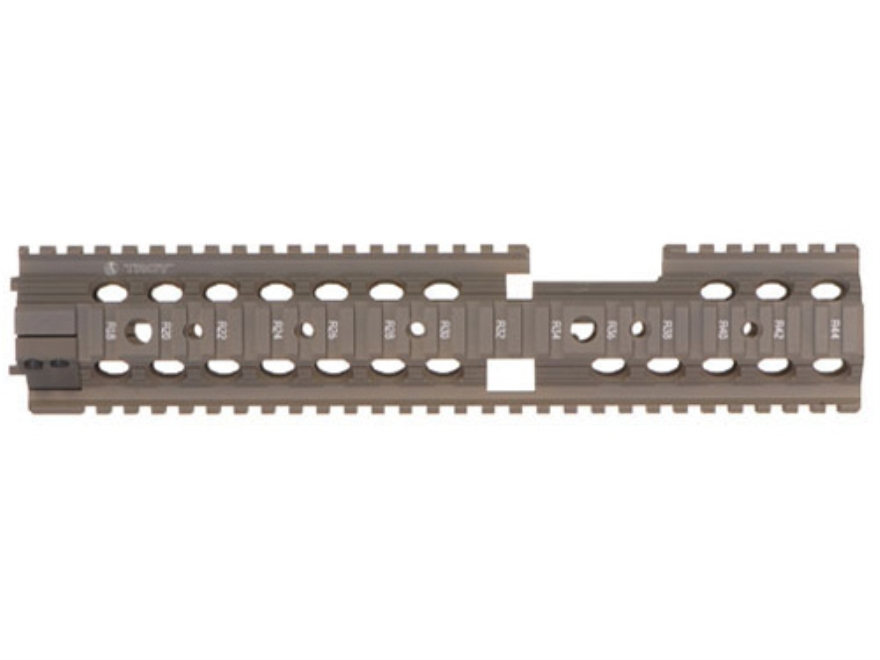 Troy Industries MRF-CX Battle Rail Free Float Quad Rail Handguard AR-15