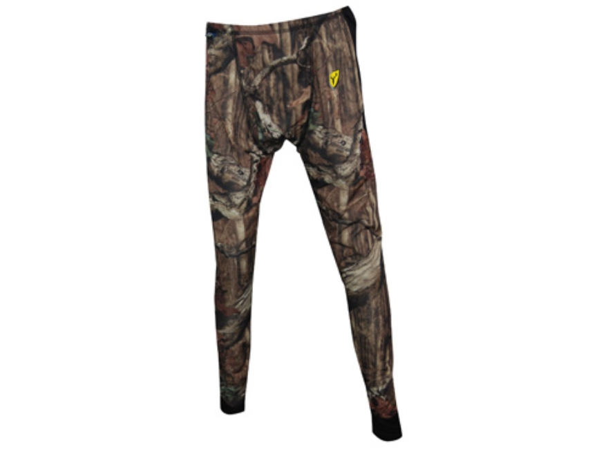 "ScentBlocker Men's 8th Layer Base Layer Pants Polyester Mossy Oak Break-Up Infinity Camo Large 36-38 Waist 32"" Inseam"