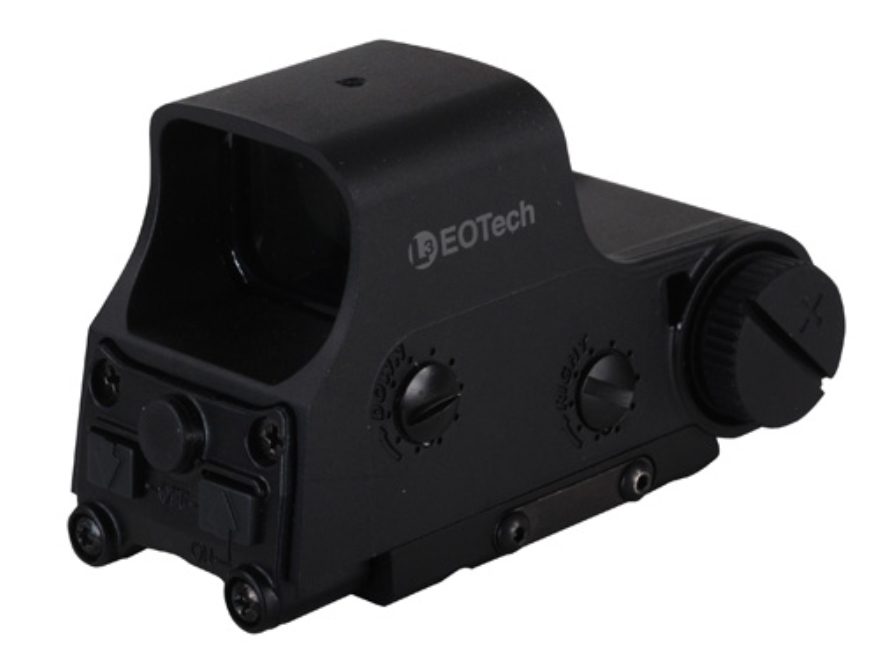 "EOTech XPS2-RF Holographic Weapon Sight 65 MOA Circle with 1 MOA Dot Reticle Matte CR123 Battery with 3/8"" Rimfire Mount"