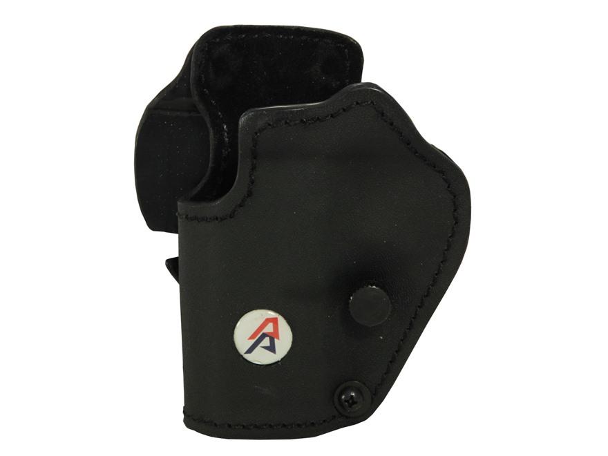 Double-Alpha PDR Belt-Ride Holster CZ SP01 Kydex/Suede Black