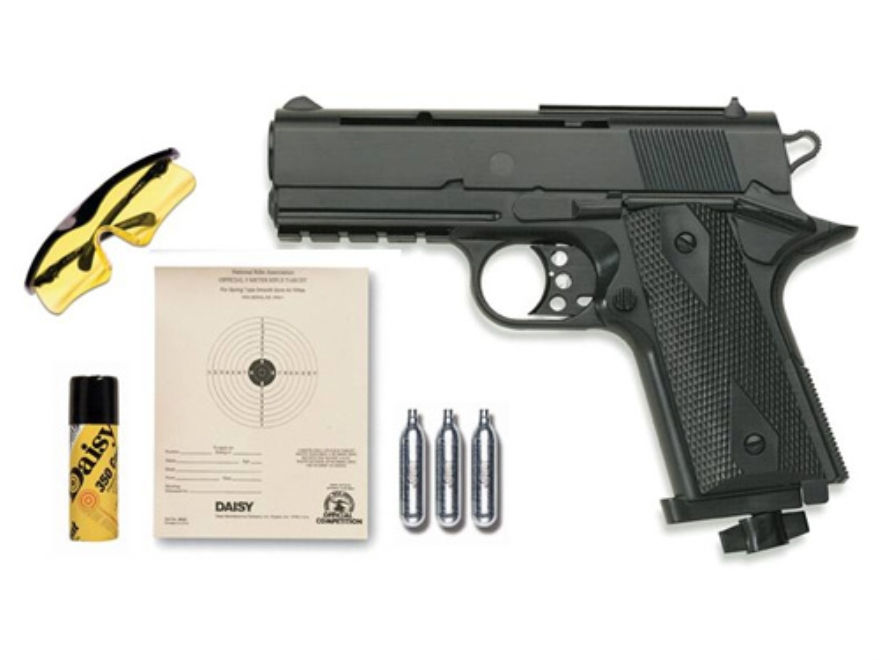 Daisy Powerline 15XK Air Pistol Kit 177 Caliber BB Black