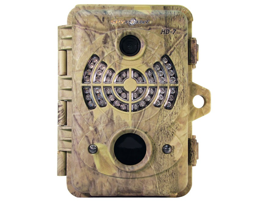 Spypoint HD-7 Infrared Game Camera 7.0 MP Spypoint Dark Forest Camo