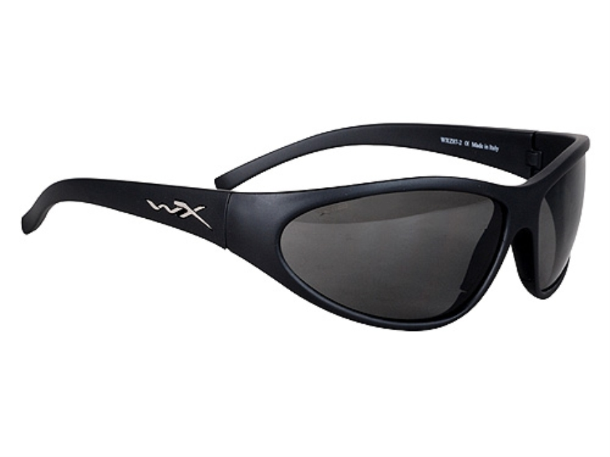 Wiley X Romer II Advanced Sunglasses Smoke and Clear Lenses