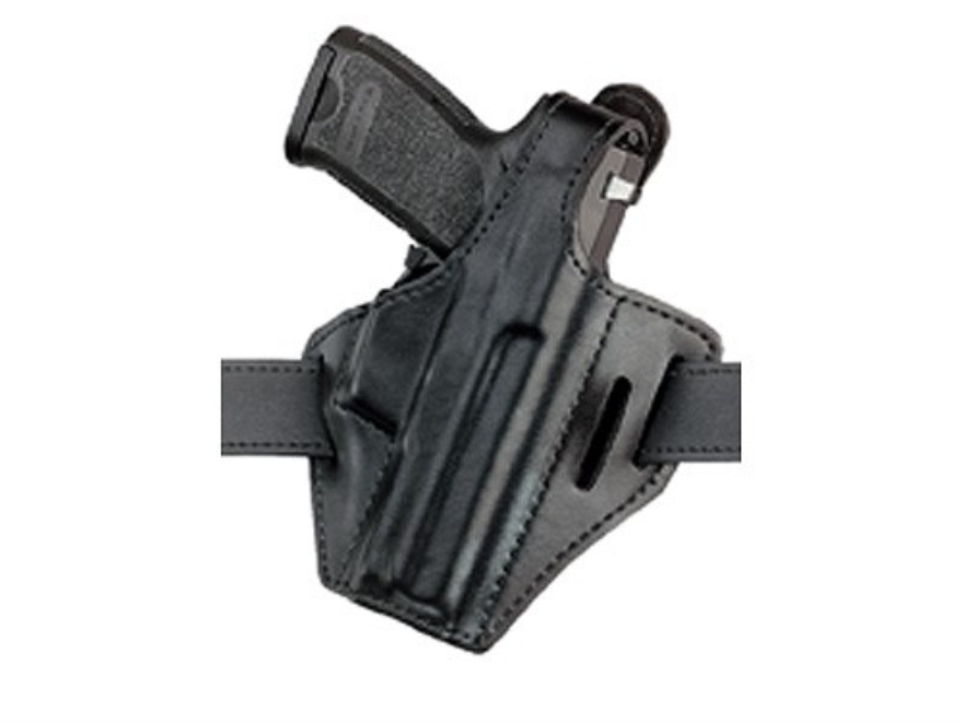 Safariland 328 Belt Holster Right Hand 1911 Government, Commander, Para-Ordnance P-14 Laminate Black