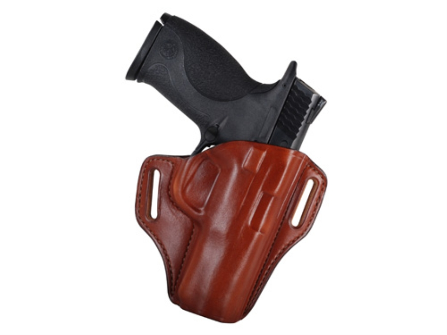 Bianchi 57 Remedy Outside the Waistband Holster Right Hand S&W M&P 9mm, 40 Leather