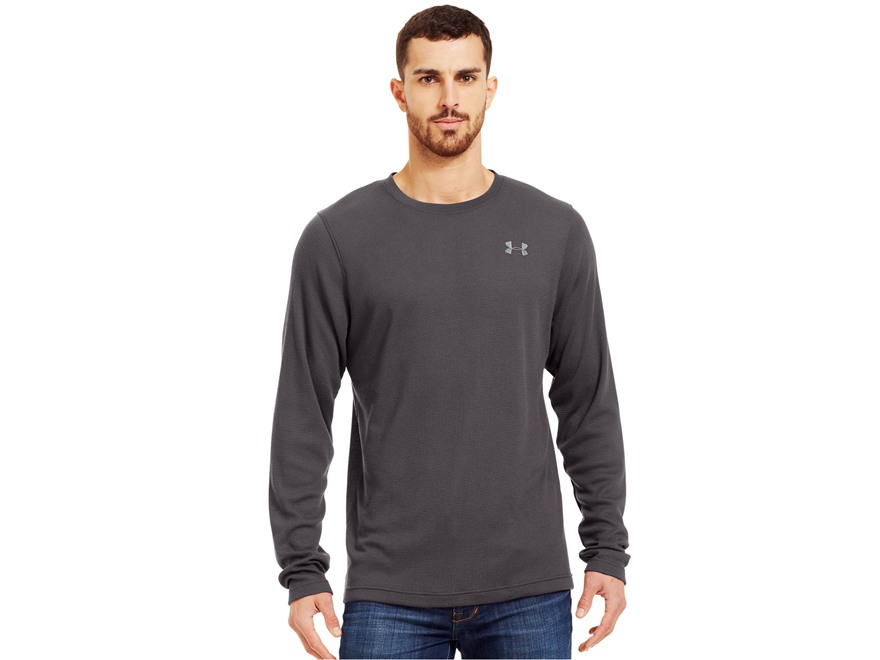 Under Armour Men's UA Waffle Long Sleeve Crew Shirt