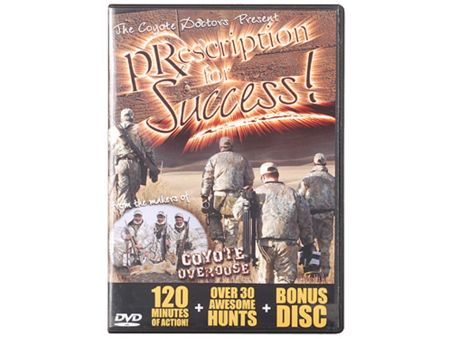 "Crit'R Call ""Prescription for Success"" Predator Hunting DVD"