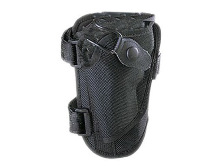 "Bianchi1 4750 Ranger Triad Ankle Holster Medium Frame Revolver 2"" Barrel Nylon Black"